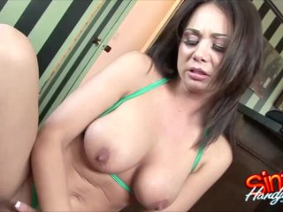 Handjobs With Holly West End With Cumshots On Big Tits