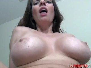 PORNSTARPLATINUM Big Tits MILF Rides Stepsons Cock POV