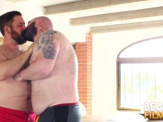 BEARFILMS Kinky Cub Justin West Drilled By Raw Bear Cock