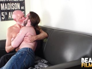 BEARFILMS Inked Cub Jeremy Feist Barebacked By Mature Stud