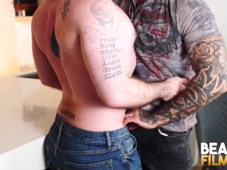 BEARFILMS Cub Jeremy Feist Hairy Hole Dicked By Inked Daddy