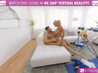 VR BANGERS Solid workout with busty blonde Birdgette B