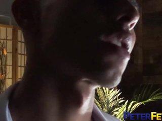 PETERFEVER Asian Jock Carter James Jerks Off Big Cock Solo
