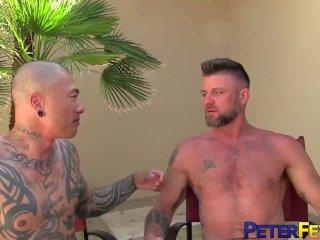 PETERFEVER Stud Christian Matthews Fucked Hard By Asian Hunk