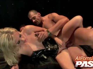 Latex Clad Blonde Angela Stone Hot Sex