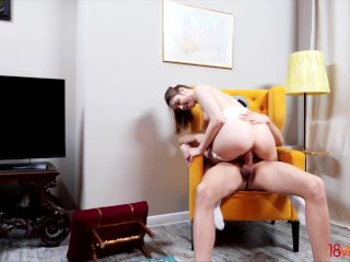 18videoz – Alita Angel – Stretching pussy with big cock