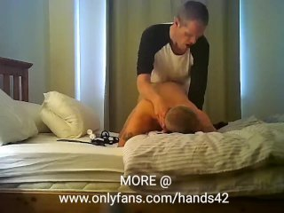 Hands42 fucking a straight married buddy