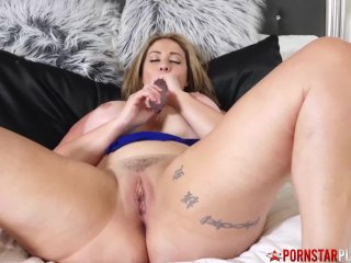 PORNSTARPLATINUM Busty Mature Eva Notty Solo Dirty Solks