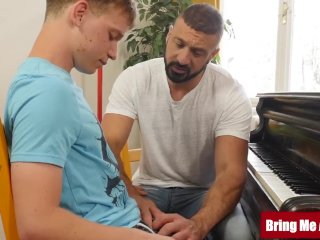 BRINGMEABOY Young Pianist Jacob Dolce Sucked Off and Fucked