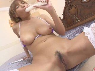 Big Titted Sumire Matsu Squirts From Masturbati – More at Japanesemamas com