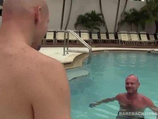 Chad Brock Bareback Fucks and Breeds Cole Sexton
