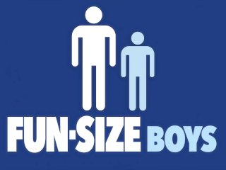 FunSizeBoys – Giant daddy breeds tiny blond twink with massive cock