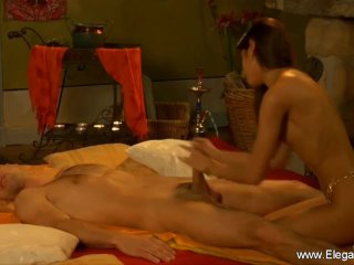 Handjob And Blow From Indian MILF