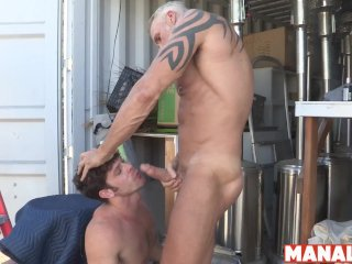 MANALIZED Devin Franco Spreads Legs For Daddy Before Cumming