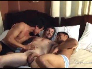 Daddy Fucks Asian Boys Dylan and Enrique