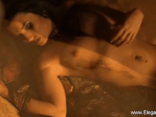 Seduction From Dark Beauty Naked And Nude