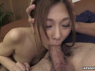 Japanese housewife, Maki Horiguchi had sex, uncensored