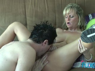 StepMommy just loves cock