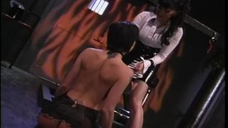 Steamy slave abuse