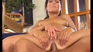 Black haired hottie loves riding on hard cock