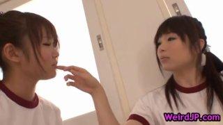Beautiful harune maeda and megumi shono