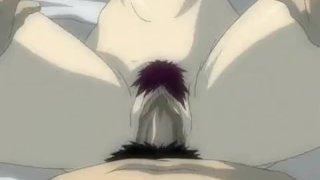 Hot anime sex scene from horny lovers