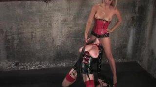 Lesbian bondage slave