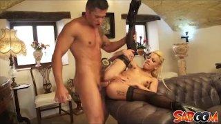 Jordan Kali hot blonde surprise slamming