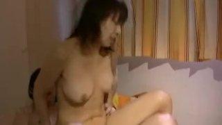 Japanese woman is kinky