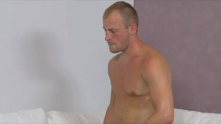 Nervous stud caught in agents web