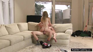 Nubiles Casting - Can he convince her to fuck