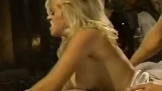 Babewatch - Blonde with big tits fucks hard