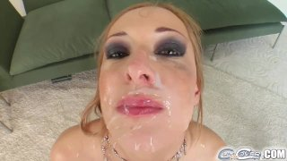 Cum For Cover It's five cocks for her