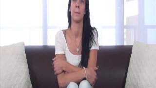 Casting Couch-X Teen softball pitcher ready
