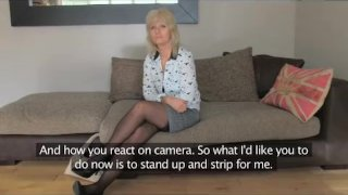 FakeAgentUK - Mature MILF is hungry for cock