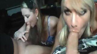 Vicky Vette & Sunny Lane Ultimate Sports BJ!