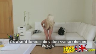 FakeAgentUK - Blonde sexy Czech girl squirts