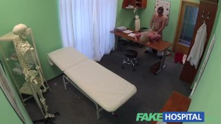 FakeHospital - Blonde seduces doctor