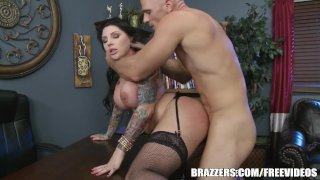 Darling Danika loves rough office - brazzers