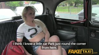 FakeTaxi - Filthy UK blonde chav love fucking