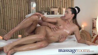 Massage Rooms - Young girl with perfect body
