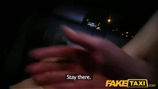 FakeTaxi Young babe fucked by cabbie