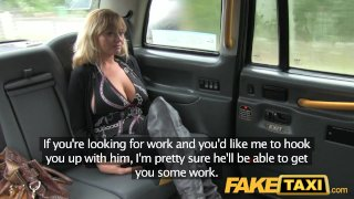 FakeTaxi Hot American MILF with big tits