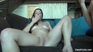 Dana DeArmond and her friend play with toys