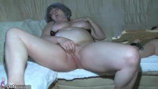 OldNanny Chubby Granny is very horny threesom