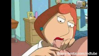 Family Guy Hentai - Пошлая Луис хочет в попку