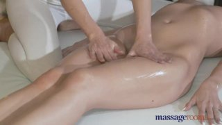 Massage Rooms Young lesbians get dirty