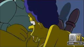 Simpsons Porn (ПорноСимпсоны) - Ночь секса