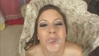 Horny Christy slammed by black cock