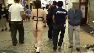 Japanese public nudity walk of shame subtitle